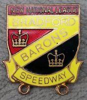 Bradford Barons Speedway Club, New National League Enamel Pin Badge