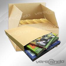 200 Faltentaschen Versandtaschen B4 braun Haftklebung Briefumschlag Umschläge