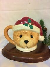 Cherished Teddies Mug Santa 1995 Nib