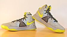 Nike Hyperfuse 11.5 Basketball Shoes Sneakers Supreme Atomic Green Cool Grey EUC