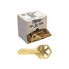 Taylor Kw1 Brass Key Blanks