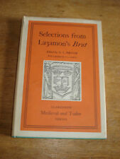 Selections from Layamon's Brut,by G.L.Brook, C.S.Lewis,1963 HARDBACK