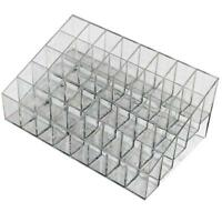 40Slots Lipstick Foundation Display Box Cosmetic Makeup Organizer Case-Holders!