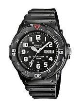 Casio Mens Watch Diver Style Quartz Sports Watches Black Water Resistant 100m