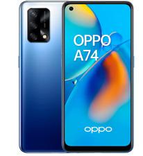 "OPPO A74 4G 128GB ROM 6GB RAM MIDNIGHT BLUE DUAL SIM ANDROID DISPLAY 6.43"""