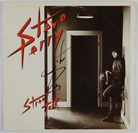 Steve Perry JSA Signed Autograph Record Street Talk Journey JSA COA