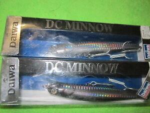 NOS. Daiwa  DC Minnows, 2 total.  NEW.