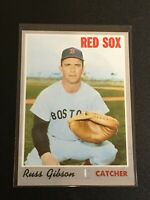 F60092  1970 Topps #237 Russ Gibson RED SOX