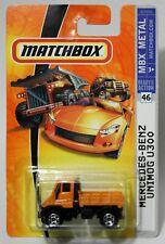 MERCEDES-BENZ UNIMOG U300 * 2007 MATCHBOX * ORANGE & BLACK FIRST EDITION