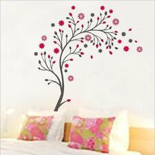 Wandtattoo Wandsticker Wandaufkleber Baum Pinke Blüten Wohnzimmer 150 x 150 W090