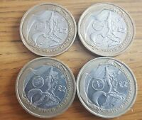 FULL SET & Separate 2 Pound Coins Commonwealth Games - Scotland England NI Wales