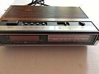 Vintage GE General Electric C2430A Alarm Clock  Radio Tested /& Working!