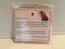 CARNIVAL CRUISE LINES VALOR Ship Platinum Diamond VIP lapel pin New on card