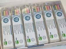 24 paquetes con 12 minas colores cada uno. para portaminas 0,5mms.