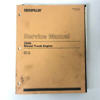 Genuine Caterpillar 3208 Diesel Truck Engine Manual 32Y1-UP 51Z1-UP