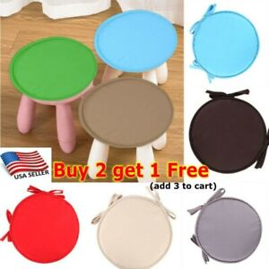 Round Garden Chair Pads Seat Cushion For Outdoor Bistro Stool Patio Home Durable