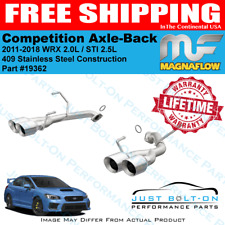 Magnaflow Competition Axle-Back Exhaust 2011-2018 Subaru WRX STI Sedan 19362