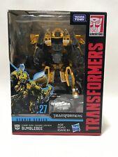 Transformers Studio Series 27 Deluxe Class Movie 1 Clunker Bumblebee Action F...