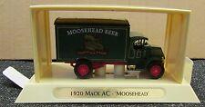 """YGB09 Matchbox Great Beers Boxed Die Cast Model - 1920 Mack AC """"Moosehead"""""""