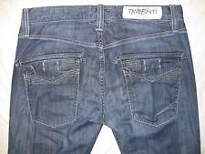 Taverniti ROD R 19 Tagged 33 Actual Size 33 X 29 1/4 Button Fly Men's Jeans