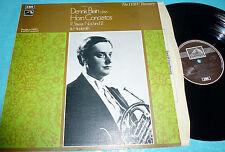 STRAUSS: 2 Horn Concertos + HINDEMITH > Brain Sawallisch / EMI HLS UK stereo LP