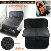 Anti-slip Baby Child Kid Infant Car Seat Protector Mat Cushion Cover Stroge Bag