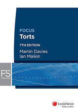 Torts by Ian Malkin, Martin Davies (Paperback, 2014)