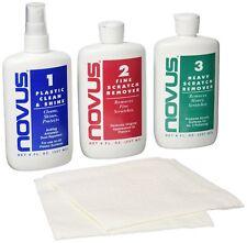 Novus Polish Kit Plastic and Acrylic Cleaner Polish Scratch Remover 8oz Eyeglass