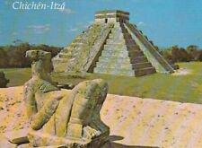 Mexican postcard - CHICHEN-ITZA,  YUCATAN, CULTURA MAYA - TOLTECA