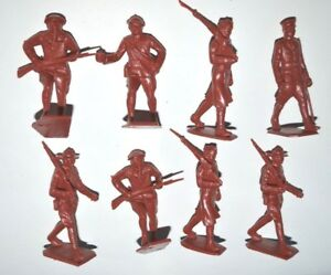 Marx World War One  60mm Unpainted Plastic figures (reissue 1990)