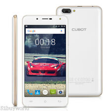 "16GB+1GB CUBOT Android 7.0 Smartphone 3G Unlocked 5"" Mobile Phone Dual SIM 13MP"