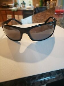 Maui Jim Peahi Polarized Sunglasses 202-02 / Black Frame / Dark Grey Lenses