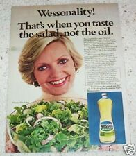1978 ad page - FLORENCE HENDERSON - Wesson Oil salad dressing recipe ADVERT
