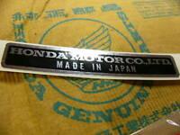 Honda CB 350 400 500 750 Four Aufkleber für Rahmen