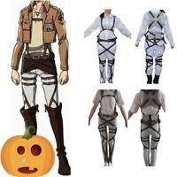 Attack On Titan Belt Adjustable Straps Harness costume Levi·Ackerman Cosplay Hot