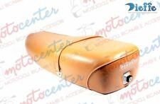 Selle Marron Clair Elite 2011 Piaggio Vespa Px 125 150 200 - Arc-En-Ciel avec Se