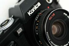KONICA FS-1 + HEXANON 40mm f1,8 - analog camera made in Japan - tested