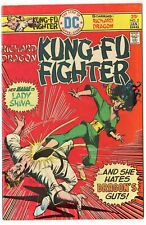 Richard Dragon, Kung-Fu Fighter #5 VF/NM 9.0  1st app. Lady Shiva  DC  B  1976