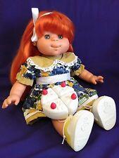 Muñeca POCAS PECAS  de los 80-90,original de Feber
