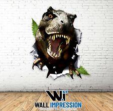 Dinosaur Raptor Wall Sticker Children Bedroom Living Room Lounge Decal Art Vinyl