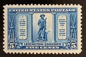 UNITED STATES #619 MNH. VF-XF centering. $28.00 CV.