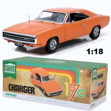 GREENLIGHT 19028 1970 DODGE CHARGER 500 HEMI ORANGE DIECAST CAR 1:18