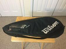 Wilson Hammer Tennis Bag Case Cover Racket Titanium 3.0 Stretch Racket Bag Nice!