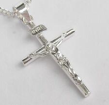 Kreuz anhänger silber  Religiöse Echtschmuck-Anhänger aus Feinsilber | eBay