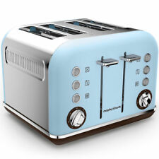 Morphy Richards Azure Special Edition Accents 4 Slice Toaster - 242100