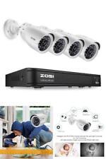 Sistema de 4 Camaras de Seguridad, Ve las Imagenes en tu Celular o Tableta!