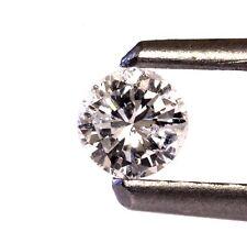 loose brilliant round estate diamond .21ct I1 H vintage antique 3.55x2.27mm