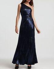 Vestiti da donna formale lunghezza lunghezza totale con monospalla