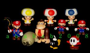 Yujin Nintendo Super Mario Bros Kubrick figure gashapon (full set of 7 figures)