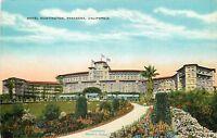 OLD DB Postcard CA F040 Hotel Huntington Pasadena Street View California Kropp